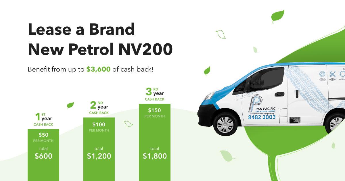 NV200 Petrol Van Promotion